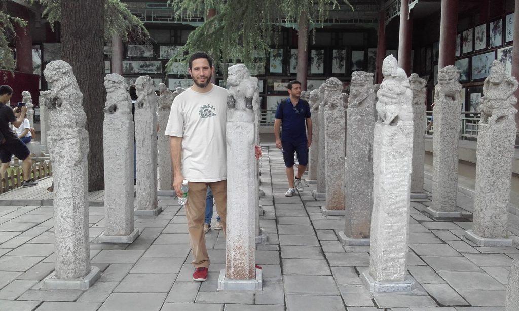 """""""Bosque de las Estelas Funerarias"""" de la Ciudad de Xi´an, en la provincia de Shaanxi."""