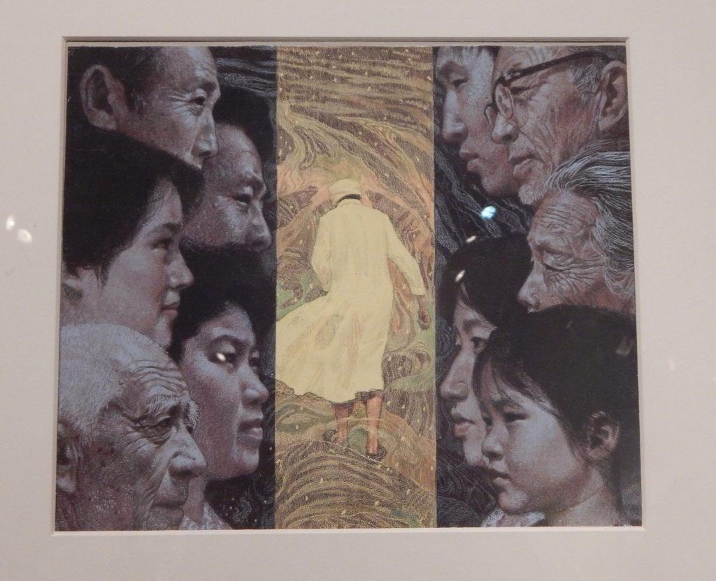 Chen Yifei_Mirando la historia